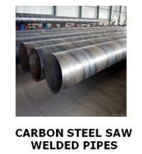 Carbon Steel Saw Welded Pipe
