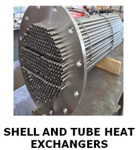 SHELL AND TUBE HEAT EXCHANGES