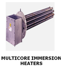 MULTICORE IMMERSION HEATERS